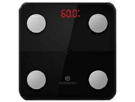 ・測り忘れの心配もない NOERDEN スマート体組成計 MINIMI Smart Body Scale Black PNS-0001 ・「スマホと連動型の体組成計」/・BIAテクノロジーと9種類のデータ ・スマート体重計/IOT体重計