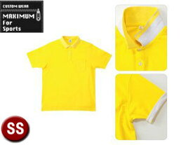 MAXIMUM/マキシマム MS3116-10 2WAY カラーポロシャツ 【SS】 (イエロー)