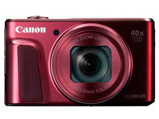 CANON/キヤノン PowerShot SX720 HS(レッド) 【送料代引き手数料無料!】