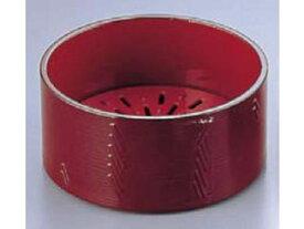 耐熱蒸しセイロ溜内朱/HPM−101M1親(目皿付)