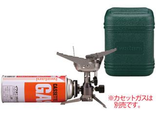 Iwatani/イワタニ 【オススメ】CB-JCB カセットガス ジュニアコンパクトバーナー (シルバー) [専用ハードケース付]
