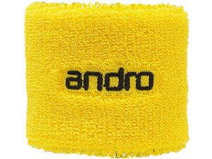 andro/アンドロ 卓球アクセサリー WRISTBAND ANDRO (リストバンド アンドロ ) イエロー×ブラック