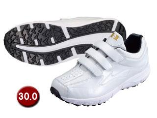 HI-GOLD/ハイゴールド PU-800W トレーニングシューズ 【30.0cm】(ホワイト/ホワイト)