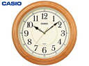 CASIO/カシオ IQ-121S-7JF 掛け時計 木枠/連続秒針