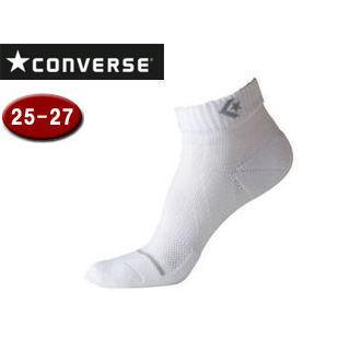 【nightsale】 CONVERSE/コンバース CB102002-1115 ジャンプアップソックス 【25-27cm】 (ホワイト×グレー)