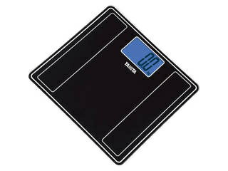 タニタ デジタルヘルスメーター メタリックブラック HD385MK