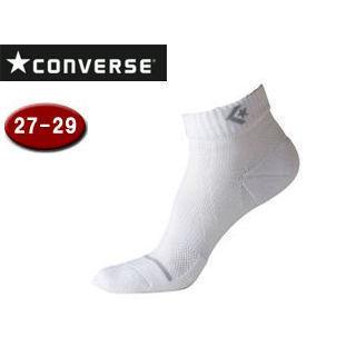 【nightsale】 CONVERSE/コンバース CB102002-1115 ジャンプアップソックス 【27-29cm】 (ホワイト×グレー)