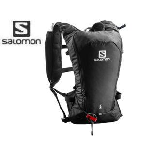 SALOMON/サロモン L40164500 AGILE 6 SET バックパック 【7L】 (Black)