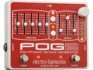 【nightsale】 electro harmonix/エレクトロハーモニクス POG2 ポリフォニックオクターブジェネレーター エフェクター 【国内正規品】