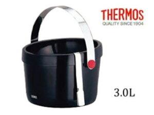 THERMOS/サーモス TPF-3000 二重アイスペール 〔3L〕(アイストング付) 【thhorei】【icepitcher】