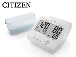 【nightsale】 CITIZEN/シチズン CHU703 上腕式 電子血圧計 【ACアダプター付き】
