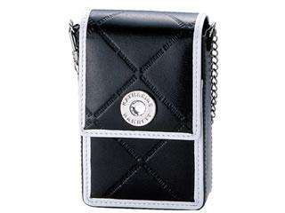 KATHARINE HAMNETT/キャサリンハムネット KH555001 シガレットケース 5型 黒