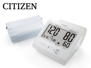 【nightsale】 CITIZEN/シチズン CHU501 上腕式 電子血圧計