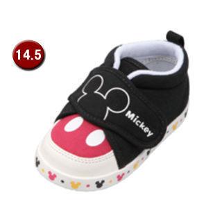 【nightsale】 Disney/ディズニー DS0150-9 ディズニー ベビーシューズ 【14.5cm】 (ブラック)