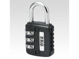 YKC/吉野金物 フリーダイヤル錠 31mm ブラック 120-31-B