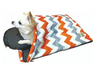 株式会社 ペットプロジャパン Happy Days ペット用スリーピングバッグ S シェブロン 犬 猫 ベッド マット