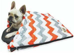 株式会社 ペットプロジャパン Happy Days ペット用スリーピングバッグ M シェブロン 犬 猫 ベッド マット