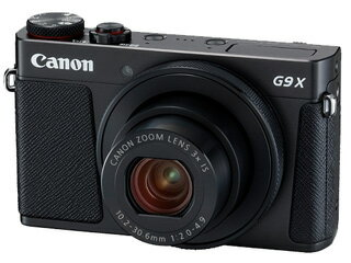 【納期5月下旬以降】 CANON/キヤノン PowerShot G9 X Mark II (ブラック) PSG9XBK 1717C004