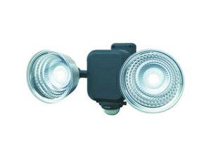 musashi/ムサシ ダンケ 3.5W×2灯 フリーアーム式LED乾電池センサーライト E42265