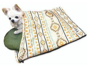 株式会社 ペットプロジャパン Happy Days ペット用スリーピングバッグ S ネイティブ 犬 猫 ベッド マット
