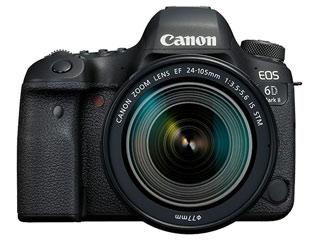 【プレゼントキャンペーン!1/14まで】 CANON/キヤノン EOS 6D Mark II・EF24-105 IS STM レンズキット 1897C020