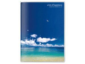 HAKUBA ハクバ APNP-PC20-UTT(海と鳥) Pポケットアルバム NP ポストカードサイズ 20枚収納