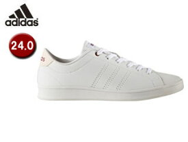 adidas/アディダス BB9611 adidas NEO VALCLEAN QT W レディース24.0(ランニングホワイト×ミステリールビー)