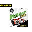 【nightsale】 andro/アンドロ 112220 裏ソフトラバー RASANT BEAT(ラザントビート) 【2.1】 (クロ)