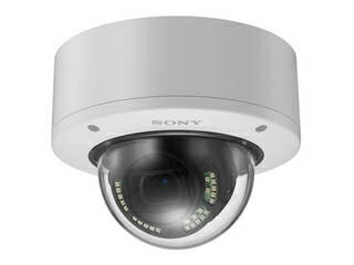 SONY/ソニー 4K出力ドーム型ネットワークカメラ 屋外型 赤外線照射機能搭載 IP66準拠 SNC-VM772R
