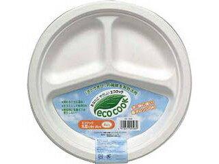 エコクック丸皿仕切26cm4枚