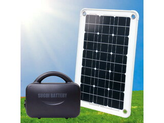 システムトークス ナノ発電所セット Ver.2 Sun Pad+スゴイバッテリー NPP-300LP2SPD40