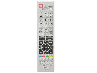 OHM/オーム電機 AV-R340N-T AudioComm 東芝レグザ専用テレビリモコン 03-5912