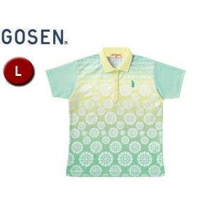 GOSEN/ゴーセン T1401 レディースゲームシャツ 【L】 (シャーベットグリーン)