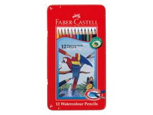 FABER-CASTELL/ファーバーカステル ファーバーカステル 水彩色鉛筆 12色セット TFC-WCP/12C