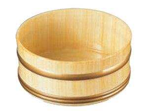 やすらぎ 風呂桶 白木塗り ABS樹脂 6−1501−8
