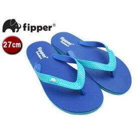 fipper/フィッパー FJ02-C07 ビーチサンダル コンフォートタイプ 【27cm(UK08)】 (ブルー・ターコイズ/ターコイズ・ブルー)
