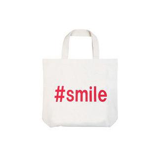 【nightsale】 the HAMP works/ザ・ハンプワークス HW-002 A-4 日本製 トートバッグ #smile 厚地 帆布 (#smile)