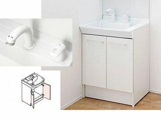 【時間帯指定不可】 LIXIL/リクシル 【INAX】洗面化粧台600mm V1 両開き シングルレバー洗髪シャワー水栓 V1N-605SY/VP1H