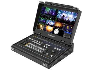 AVMATRIX PVS0613 13.3インチディスプレイ一体型スケーラー搭載 6入力ポータブルマルチスイッチャー 直接画面を確認できるオールインワンビデオスイッチャー