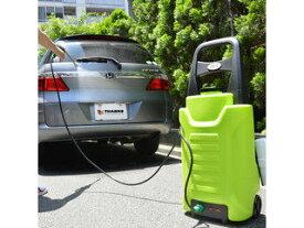 THANKO サンコー 駆動時間約30分!充電式だからどこでも使える!タンク式充電どこでも高圧洗浄機 ACTD2WS8