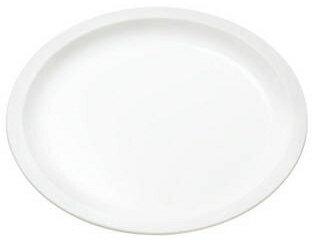 ポリプロ 丸皿18cm 白色 No.1722W