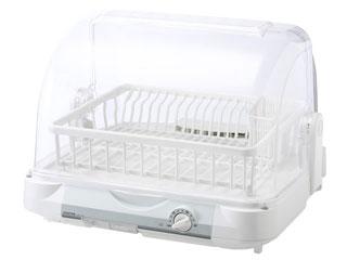 KOIZUMI/コイズミ KDE-5000-W 食器乾燥器 (ホワイト) 【6人分収納】