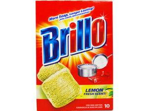 ブリロ 73207 ブリロ スチールウール ソープパッド レモン