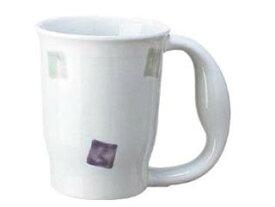 AOYOSHI/青芳製作所 ほのぼのマグカップ スクエアー(磁器)/721