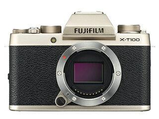 FUJIFILM/フジフイルム F X-T100-G(シャンパンゴールド) FUJIFILM X-T100 ボディ