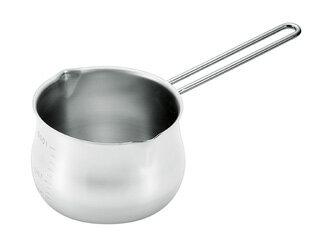 H-270818-8ステンレスミルクパン1000ml(目盛付)