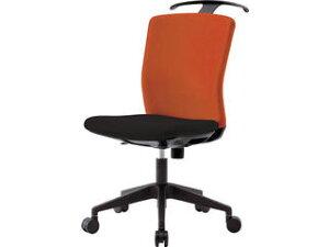 IRIS CHITOSE/アイリスチトセ 【代引不可】ハンガー付回転椅子(フリーロッキング) オレンジ/ブラック HG-X-CKR-46M0-F-OG