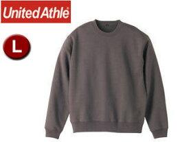UnitedAthle/ユナイテッドアスレ 10.0オンス クルーネックスェット(パイル)アダルト 【L】 (チャコール)