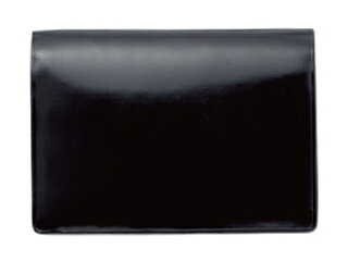 Cardcase/名刺入れ【ブラック】(マチ付)