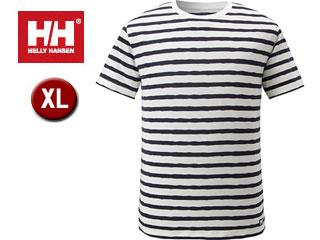 HELLY HANSEN/ヘリーハンセン HO61413-N1 ショートスリーブMTトレッカークルー メンズ 【XL】(ボーダーネイビー)